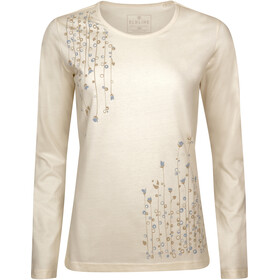 Elkline Dots Longsleeve Shirt Dames, creme